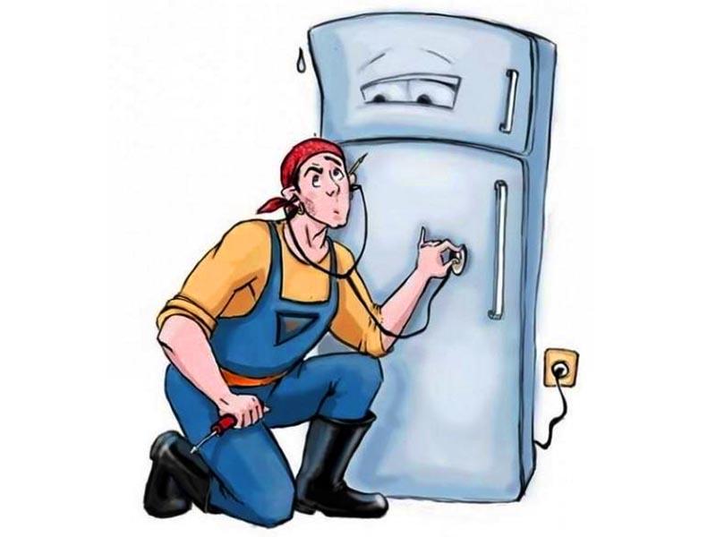 Что делать, если в жару сломался холодильник?